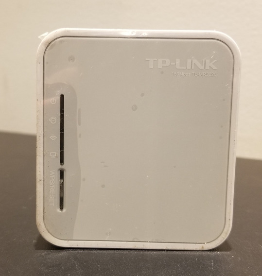 Mini Roteador Wireless 150mbps Tp Link Tl-mr3020 - 3g/4g