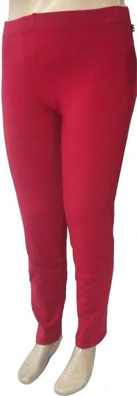 Calça Legging Fuso Feminina Plus Size Cotton (algodão) Moda