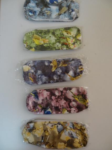 Cartucheras Estampadas Flores