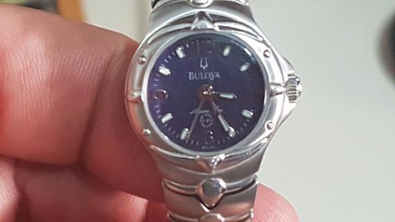 Bulova Marine Star Feminino Quartz S/caixa Excelente Estado