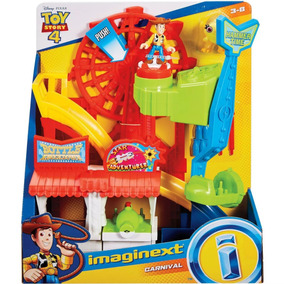 Fisher Price Imaginext Toy Story 4 Parque De Diversão Mattel
