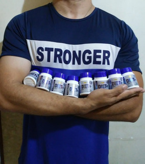Diet+stronger 100%natural (perder Peso) 1 Frasco 30 Capsulas