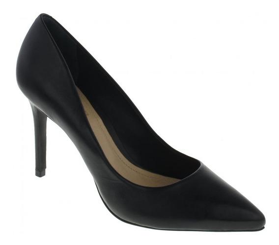 Sapato Scarpin Schutz S0172300050541u Couro Black
