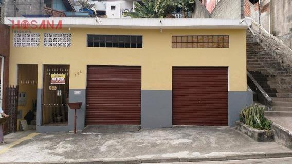 Salão Comercial Para Locação, Serpa, Caieiras. - Sl0026