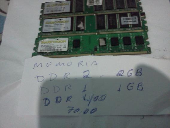 Memorias Ddr 1 -ddr 2--ddr 400- Original Kit Com 3