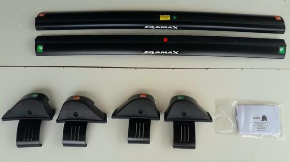 Rack Teto Volkswagen Up 2014 Até 2019 Bagageiro Eqmax Preto
