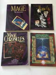 Juegos De Rol Ingles Pack Mage The Ascension (2)
