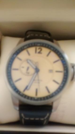 Relógio Náutica Com Lente Safira - Original - Novo Na Caixa