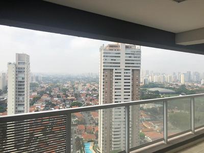 Apartamento Em Brooklin Paulista, São Paulo/sp De 136m² 3 Quartos À Venda Por R$ 1.680.000,00 - Ap203872