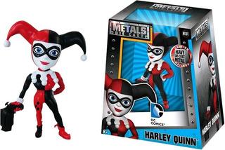 Harley Quinn Figura Clasica Muñeco Metal Die Cast Dc 10 Cm