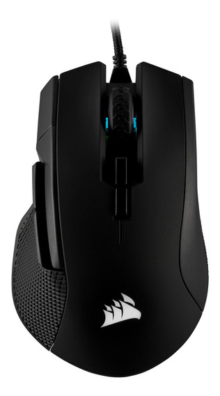 Mouse Corsair Gaming Ironclaw Rgb Ch-9307011-na Preto C/ Fio