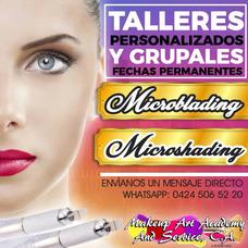 Taller De Microblading, Microshading, Extensión De Pestañas