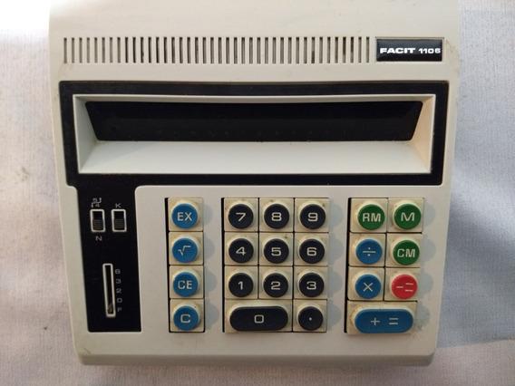 Antiga Calculadora Facit1106 (liga Mas Não Funciona Teclado)