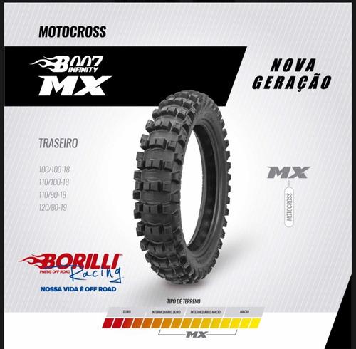 Cubierta De Motocross 110/90/19 Mx007 Borilli