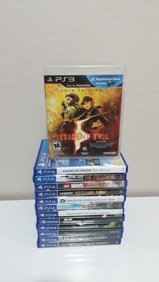 Resident Evil 5 Playstation 3 Mídia Física Á Pronta Entrega