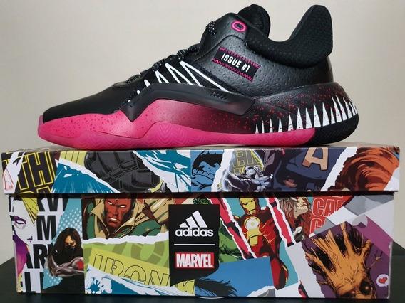 Tenis adidas, Donovan Mitchell, Venom, Spider Man