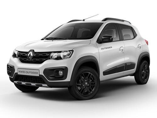 Renault Kwid Outsider 2021 0km Blanco Contado Financiado