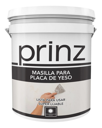 Masilla Placas De Yeso Durlock 32 Kg Prinz - Prestigio