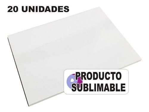 Imagen 1 de 9 de 20 Cartones Blancos Para Sublimación Cartón Sublimable A4