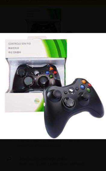 Controle X Box 360 E Pc Sem Fio