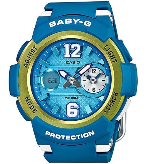 Relógio Casio Baby-g Feminino Anadigi Bga-210-2bdr