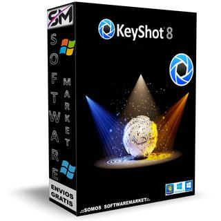 Luxion Keyshot Pro8.2crea Animaciones Y Gráficos 3d