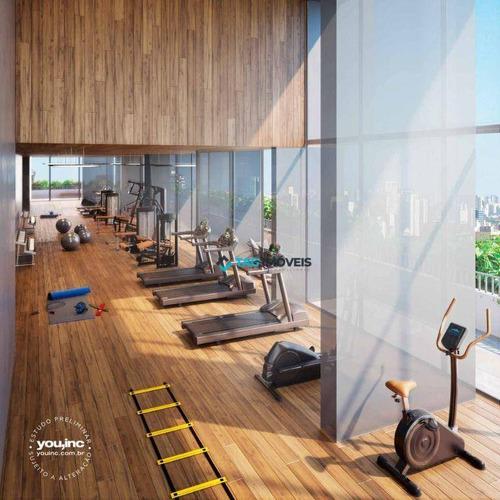Imagem 1 de 7 de Studio Com 1 Dormitório À Venda, 24 M² Por R$ 372.400,00 - Vila Mariana - São Paulo/sp - St0032
