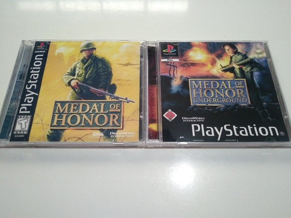Medal Of Honor Collection - Psone Patch Em Português