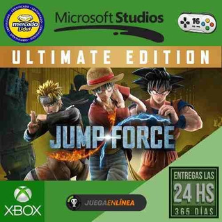 Jump Force Ultimate Edition Xbox One Modo Local
