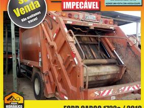 Ford Cargo 1722e / 2010 - Compactador De Lixo Facchini 12m³