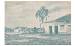 Postal Anos 1950 Praia Itacuruça, Mangaratiba, Rio De Janeir