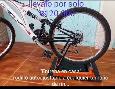 Rodillo Para Bicicleta Autoajustable