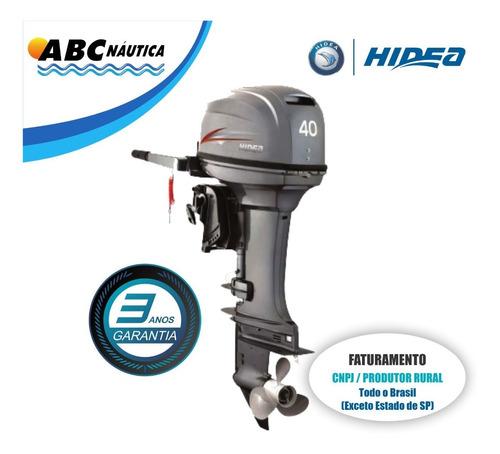 Motor De Popa 40hp Hidea Leia Anúncio