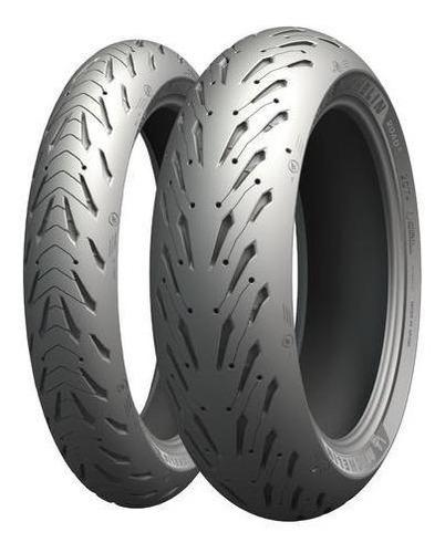 Kit Cubiertas 190 50 17 + 120 70 17 Michelin Pilot Road 5