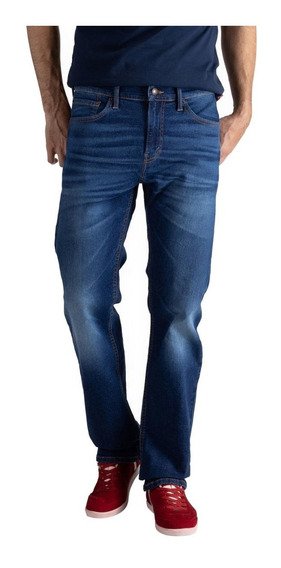 Calça Jeans Levis 505 Regular Masculino Azul Médio