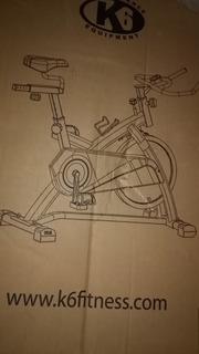 Bicicleta Spinning K6 Electra 2 Negra Nuevas En Caja