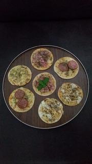 Mini Pizzas Pré Assadas (e/ou Congeladas)