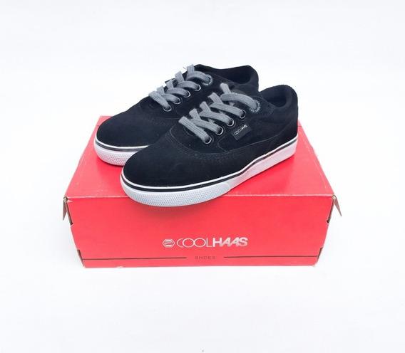 Zapatillas Cool Haas Para Niños (negro)
