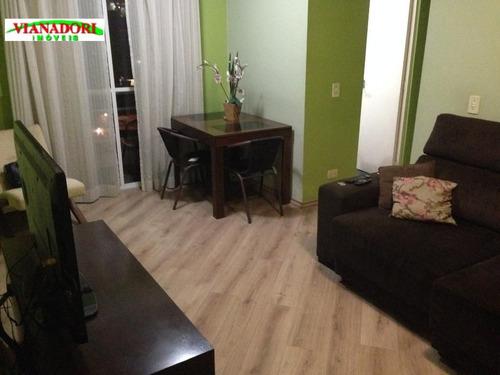 Imagem 1 de 19 de Apartamento Jardim Santa Mena Guarulhos. - Ap1563