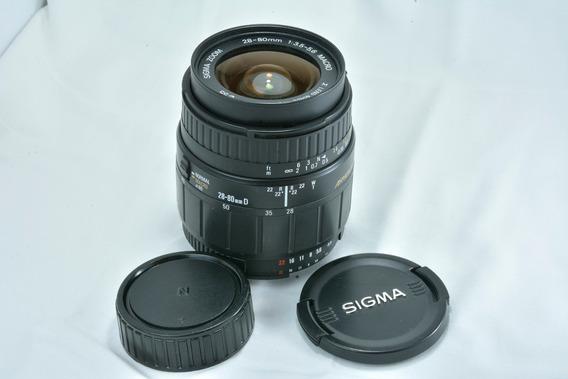 Lente Sigma 28-80 Mm F/3.5 Macro Aspherical Nikon Dx/fx Full