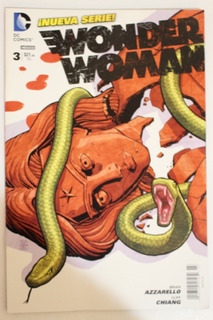 2012 Cómic Wonder Woman #3 Dc Televisa
