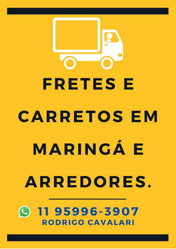Imagem 1 de 1 de Fretes E Carretos