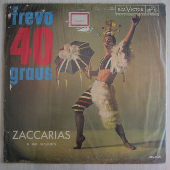 Lp Zacarias Frevo 40 Graus Frete Grátis