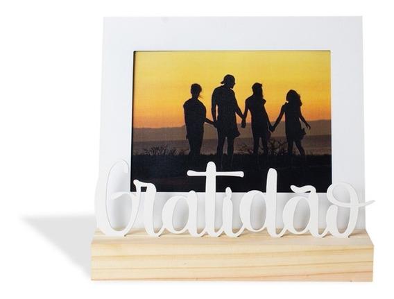 Porta-retrato Gratidão Decoração Foto 15x21
