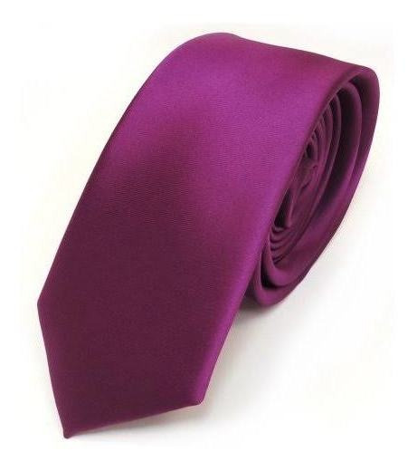 Corbata Lisa Color Magenta