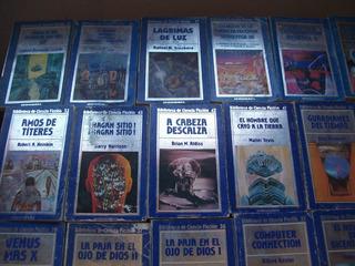 34 Libros De La Biblioteca De Ciencia Ficción Hyspamerica