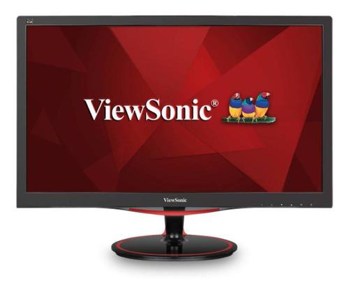 """Monitor ViewSonic VX Series VX2458-MHD LCD 23.6"""" negro y rojo 100V/240V"""