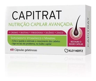 Capitrat Nutrição Capilar Avançada 60 Cáps ( Imecap Hair )