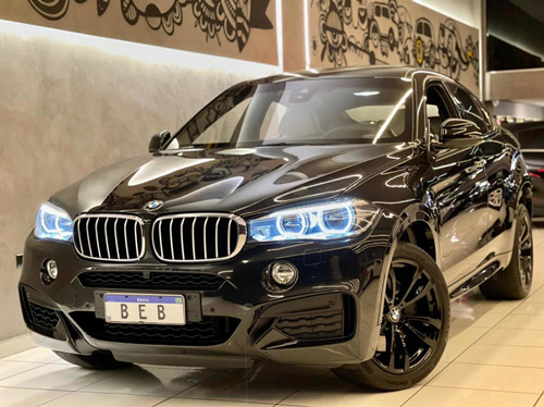 Bmw X6 Xdrive 50i 4.4 2016 Com Teto 55.000km Blindada New Tc