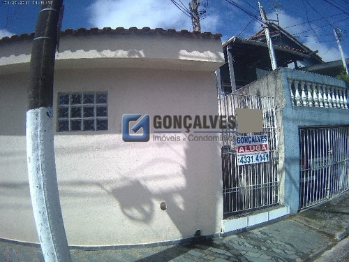 Locação Casa Terrea Sao Bernardo Do Campo Jardim Calux Ref:  - 1033-2-17471